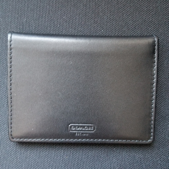 Coach ID card holder